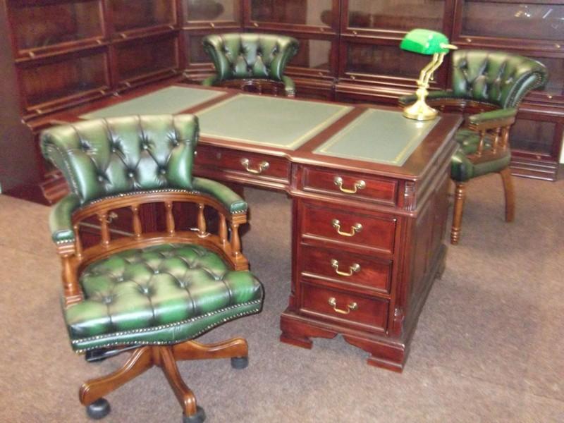 jansen antiek bureaustoel chesterfield bureaustoel. Black Bedroom Furniture Sets. Home Design Ideas