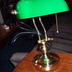 1 p bureau lampje