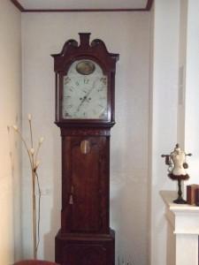 Engels staand horloge Rob Pegg