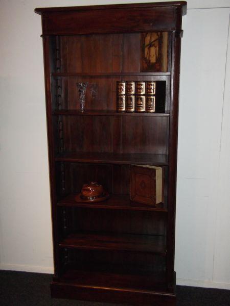 Antieke Boekenkast Mahonie.Jansen Antiek Mahonie Boekenkast Zonder Deuren Geschikt Voor