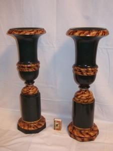 set houten vazen